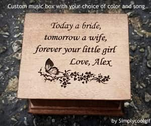 etsy, engraved music box, and you are my sunshine image