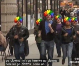 meme, clown, and funny image