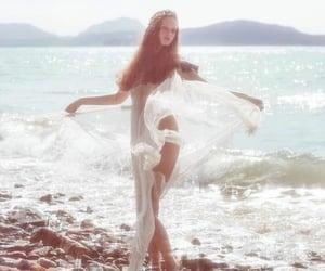 beach, feminine, and goddess image