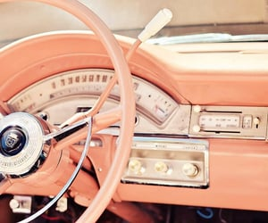 50s, automobiles, and cars image