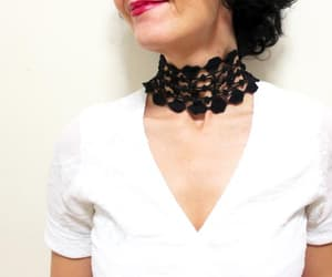 chokers, gothic, and etsy image