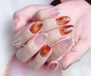 amber, nail design, and beauty image