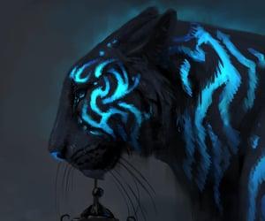 animal, blue, and beautiful image