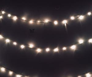 dark, lights, and night image