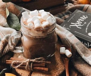 autumn, marshmallow, and fall image