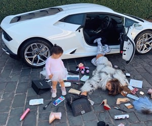 beauty, cars, and daughter image
