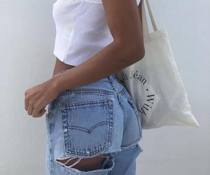 fashion, style, and jean image