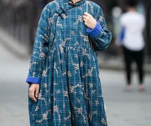 etsy, maxi dress, and cotton maxi dress image