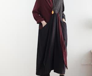 etsy, kaftan dress, and pockets dress image