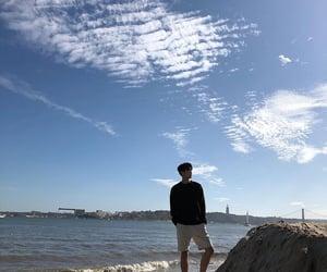artistic, korean, and sea image