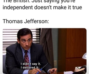 4th of july, memes, and thomas jefferson image