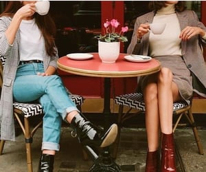 beauty, boots, and cafe image