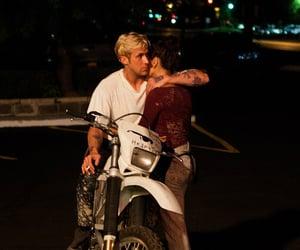 aesthetic, bike, and couple image