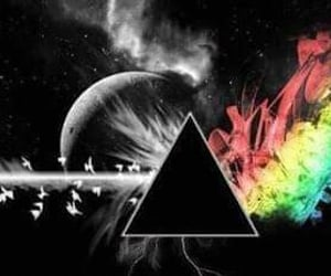 colorful, Pink Floyd, and the prism image