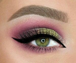 black, eye, and eyeliner image