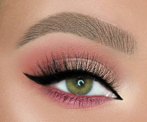 brow, peachy, and liner image