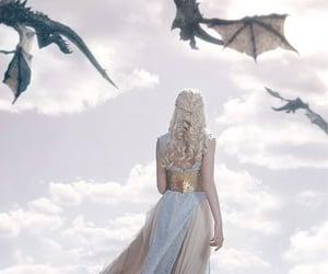 dragons and daenerys targaryen image