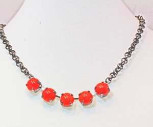 choker, crystal necklace, and swarovski crystals image