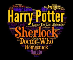 avatar, doctor who, and harry potter image