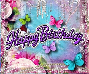 bday, birthday wishes, and birthday image