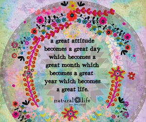 attitude, positive quotes, and good life image