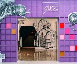 alice in wonderland, travel, and visit image