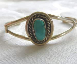 etsy, turquoise cuff, and native american image