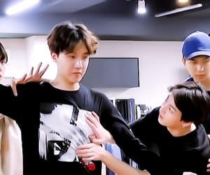 gif, hoseok, and kim seok jin image