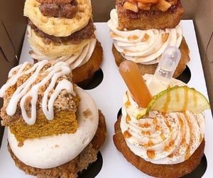 bakery, cupcake, and dessert image