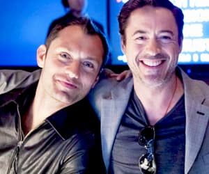 jude law and robert downey jr image