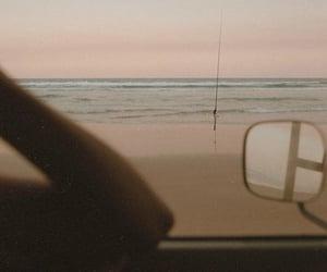 beach, beige, and boy image