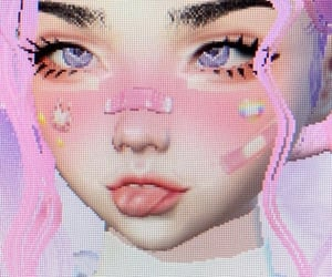 pink, cute, and imvu image
