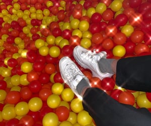 aesthetic, ball pit, and outfit image