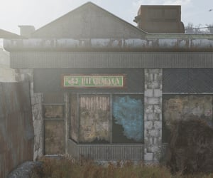 abandoned, pharmacy, and boarded up image