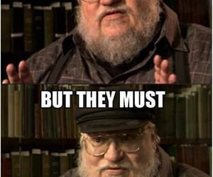 game of thrones and george r r martin image