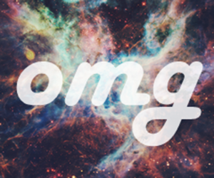 color, OMG, and outerspace image