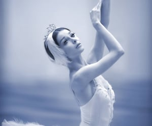 ballerina, on stage, and beauty image