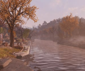 afternoon, autumn, and fallout image
