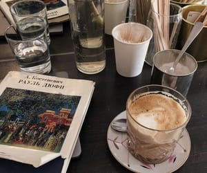 chocolate, coffee, and pretty image