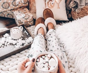 christmas, cozy, and winter image