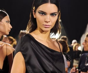 runway, Versace, and kendall jenner image