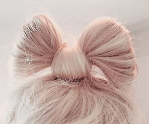 aesthetic, girly, and bow image
