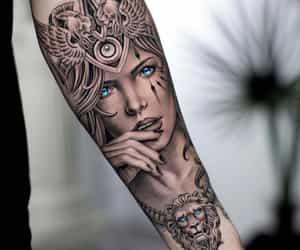body art, inked, and daniel silva image