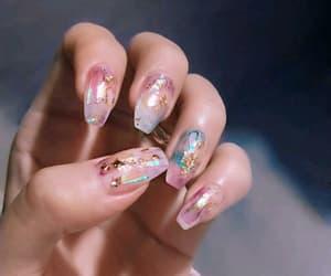 fake nails, girls nails, and nail goals image