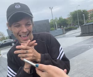 louis tomlinson and madrid image