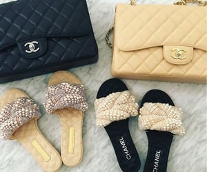 chanel, fashion, and handbag image
