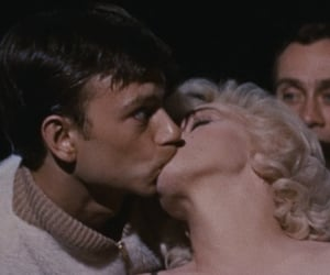 Marilyn Monroe, movie, and let's make love image