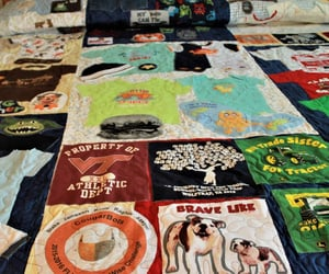 etsy, king size, and tshirt quilt image