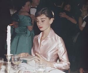 audrey hepburn, vintage, and pink image