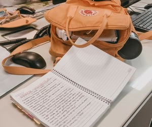 backpack, exams, and student image